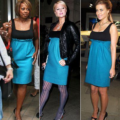 Star Jones Reynolds- Paris Hilton-Carmen Electra